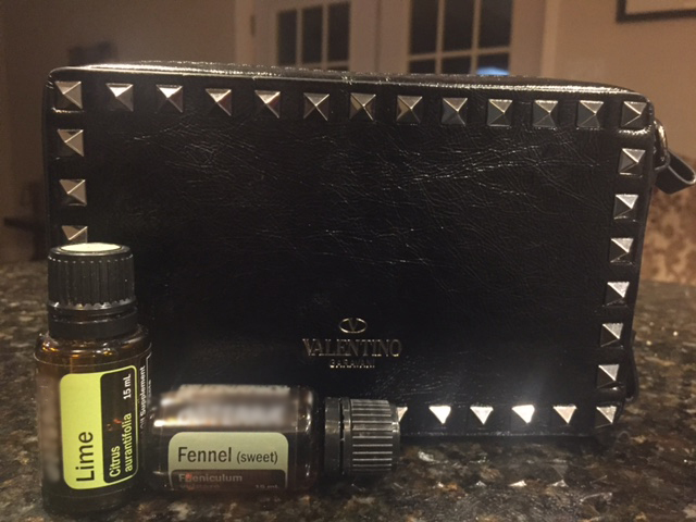 Do you love Studded Black leather and Essential Oils?  #TheStruggleIsReal